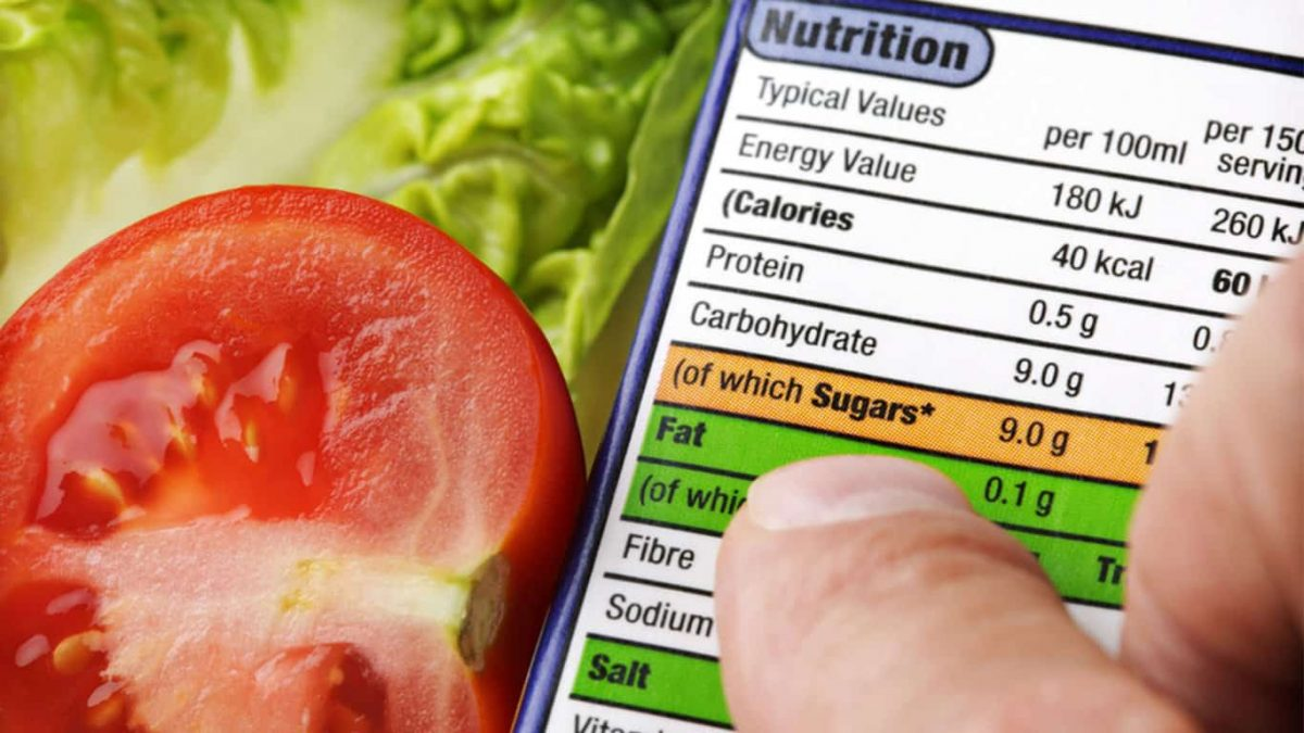 Nutrition labelling